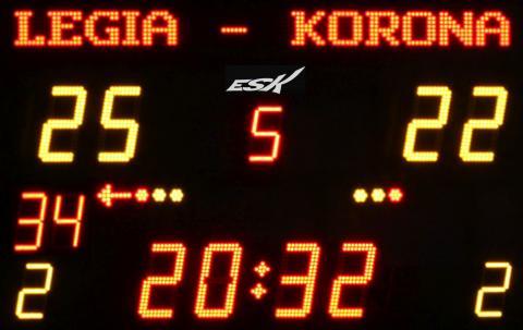 ESK201BPG24 Tablica wyników sportowych z grafiką o pojemności 24 litery