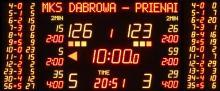 ESK24030 Tablica wyników z punktami zawodników w koszykówce